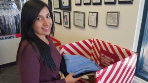 13th Flair annual holiday clothing and shoe drive