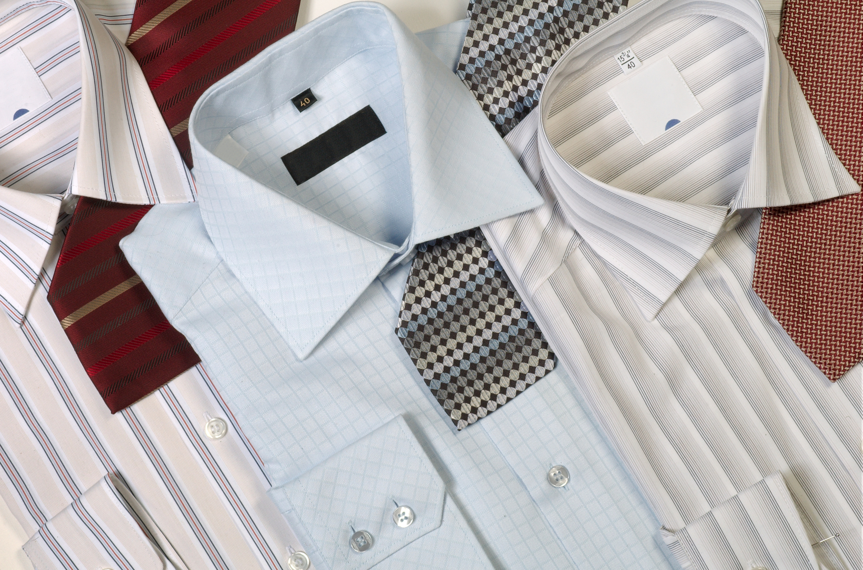 All about starch for Starch on dress shirts