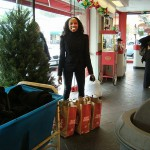 Flair Cleaners holiday clothing and shoe drive