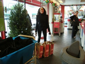 Flair Cleaners USO Donations Holiday Clothing Drive