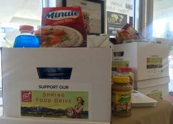 Flair Cares Food Drive